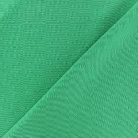 Tissu jersey piqué spécial Polo - vert prairie x 10cm