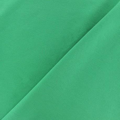 Special Polo cotton fabric - meadow green x 10cm