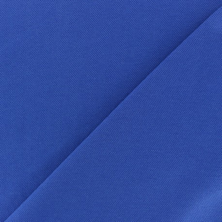 Special Polo cotton fabric - royal blue x 10cm