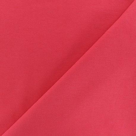 Tissu jersey piqué spécial Polo - jaune citron x 10cm
