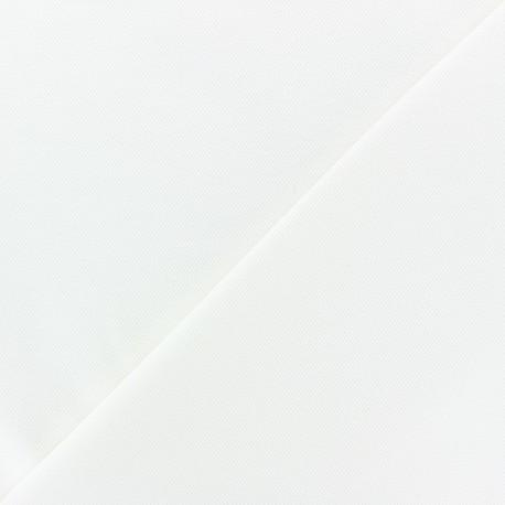 Tissu jersey piqué spécial Polo - écru x 10cm