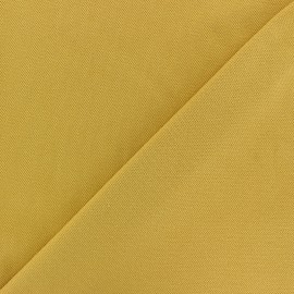 Special Polo cotton fabric - mustard yellow x 10cm