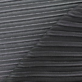 Tissu plissé lurex Supreme - doré x 10cm