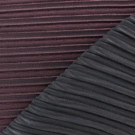 Tissu plissé lurex Supreme - rose x 10cm