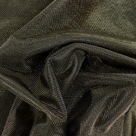 Lurex polyester fabric - gold Ippotis x 10cm