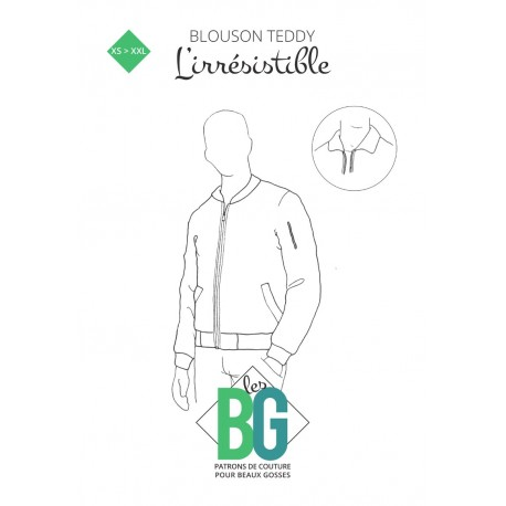 Bomber Jacket Sewing Pattern - The Irresistible