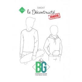 Patron Sweat Enfant Les BG - Le Décontracté