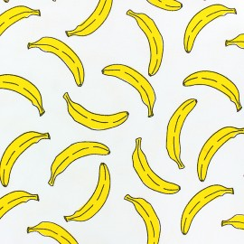 Scented Jersey fabric -White Banana flavour x 10cm