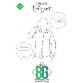 Patron Chemise Homme Les BG - L'Élégant