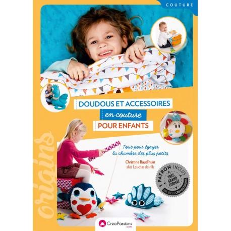 """Livre """"Doudous et accessoires en couture pour enfants"""""""