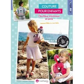 """Livre """"Couture pour enfants - Doudous animaux et sacs"""""""