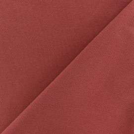 Special Polo cotton fabric - rust red x 10cm