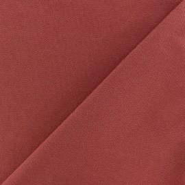 Tissu jersey piqué spécial Polo - rouille x 10cm
