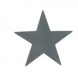 Motif Grande étoile imitation cuir (6 coloris)