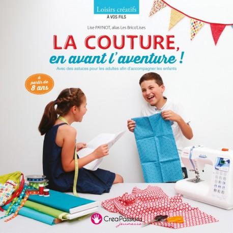 """Livre """"La couture en avant l'aventure"""""""