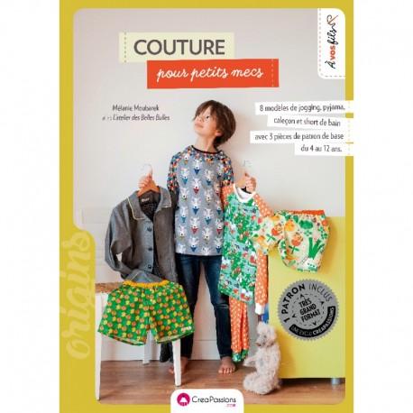 """Book """"Couture pour petits mecs"""""""