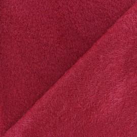 Tissu Pilou des Pyrenées - Camel x 10cm