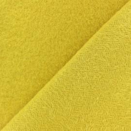 Tissu Pilou des Pyrenées - moutarde x 10cm