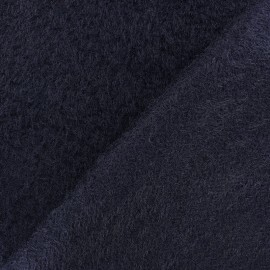 Pyrenean Faux fur fabric - black x 10cm
