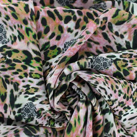 Tissu mousseline Selma - rose x 50cm