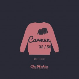 Blouse Sewing Pattern - Chez Machine Carmen