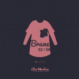 Patron Robe Chez Machine - Brune