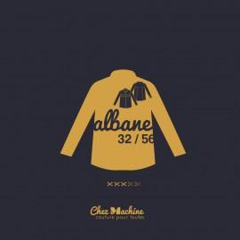 Shirt Sewing Pattern - Chez Machine Albane