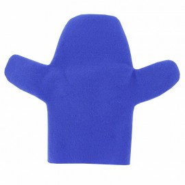 Marionnette Feutrine à Personnaliser Main - Bleu