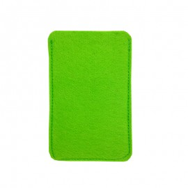 Housse Smartphone Feutrine à Personnaliser - Vert