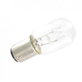 Ampoule pour machine à coudre à baïonnette
