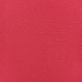 Plain Crepe fabric - Nasturtium red x 10cm