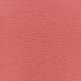 Tissu crêpe uni - Rose Antique x 10cm