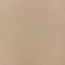 Tissu crêpe uni - Latte x 10cm