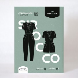 Jumsuit Sewing Pattern - Deer and Doe Sirocco