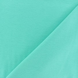 Tubular Jersey fabric - Mint green x 10cm