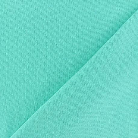 Mocked knitted Jersey 1/1 tubular edging fabric - dark seagreen x 10cm
