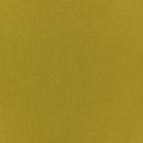 Tubular Jersey fabric - mustard x 10cm