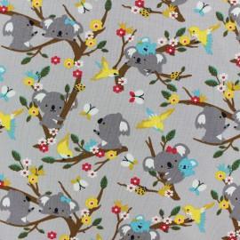 Tissu jersey Poppy Koala Dream - gris x 10cm