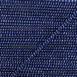 2 mm Elastic Cord - Blue Eclipse x 1m