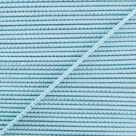 2 mm Elastic Cord - Azure Eclipse x 1m