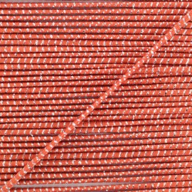 2 mm Elastic Cord - Rust Eclipse x 1m