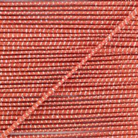 2 mm Elastic Cord - Rust Eclipse x 1m