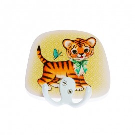 Coat Hook by Fiona Hewitt - Tiger