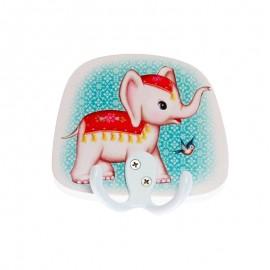 Patère Murale Fiona Hewitt - Éléphant