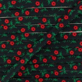 9 mm Flat Elastic - Scarlet Poesy x 1m