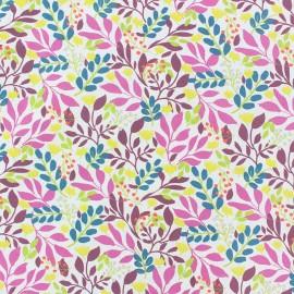 Tissu coton Daytona - rose/fuchsia x 10cm