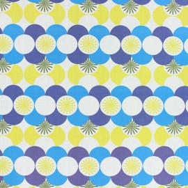 Cotton fabric - Blue Gretna x 10cm