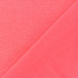 Sweatshirt fabric - Neon pink x 10 cm