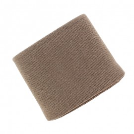 Poppy Plain Edging Fabric (135x7cm) - Taupe