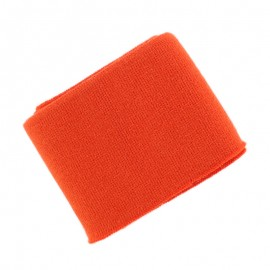 Poppy Plain Edging Fabric (135x7cm) - Orange